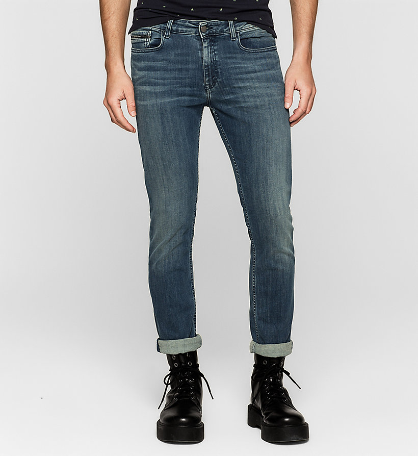 CKJEANS Slim Straight Jeans - DEEP LAGOON - CK JEANS JEANS - main image