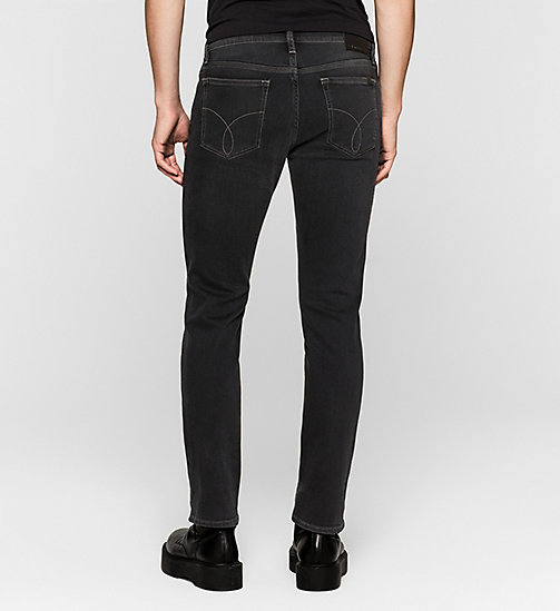 Straight Jeans - IRON BLACK - CK JEANS  - detail image 1