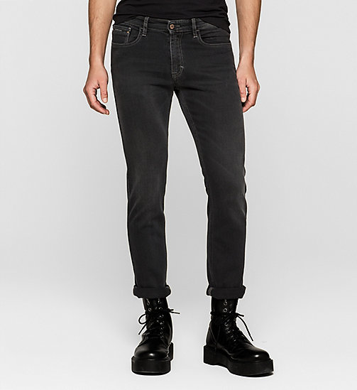 Straight Jeans - IRON BLACK - CK JEANS JEANS - main image