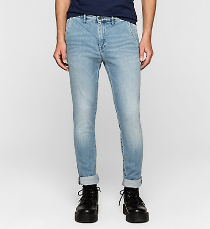 CALVIN KLEIN JEANS Chino regular en denim J30J304931913
