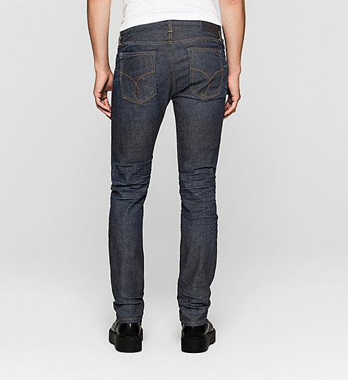 Slim Straight Selvedge Jeans - SELVEDGE RESIN RINSE - CK JEANS JEANS - detail image 1