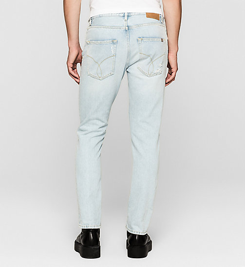 CKJEANS Regular Tapered Jeans - VINTAGE SPLATTER - CK JEANS MEN - detail image 1