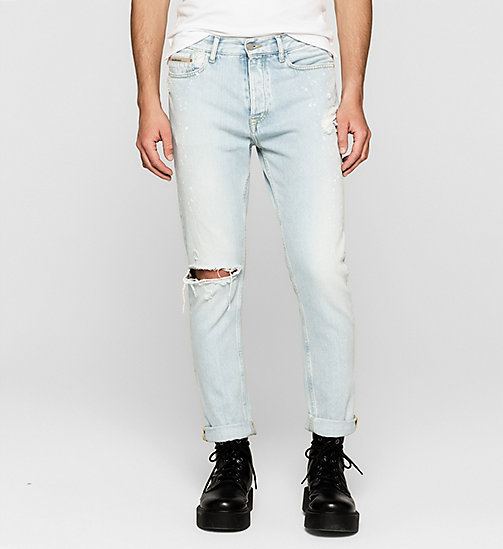 Regular tapered jeans - VINTAGE SPLATTER - CK JEANS JEANS - main image