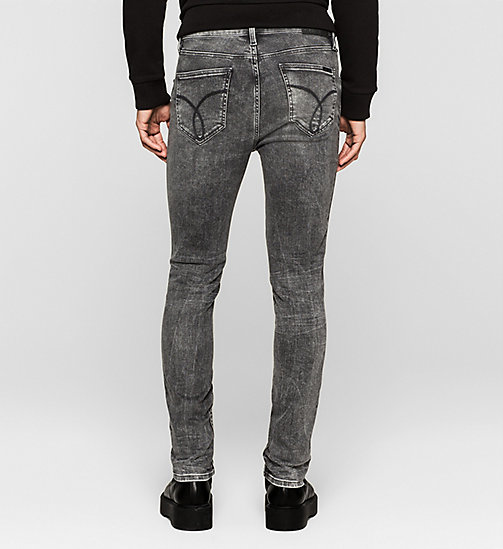 Sculpted Slim Jeans - BROKEN GREY - CK JEANS  - detail image 1