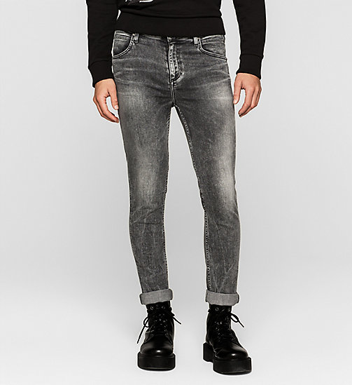 Sculpted Slim Jeans - BROKEN GREY - CK JEANS JEANS - main image