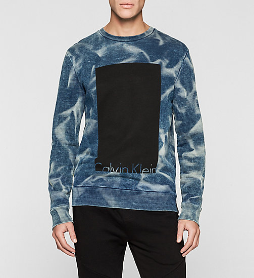 CKJEANS Block Logo Sweatshirt - INDIGO 3 - CK JEANS Up to 50% - main image
