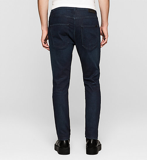 CKJEANS Regular Tapered Jeans - TRUE WORN BLUE - CK JEANS DENIM REFRESH - detail image 1