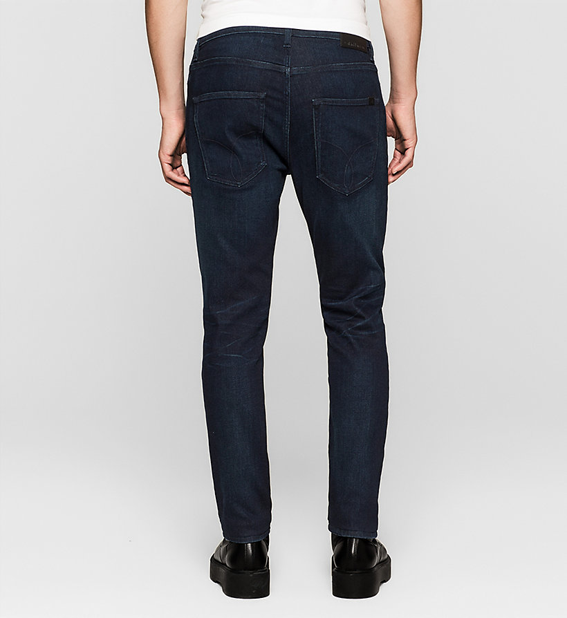 CKJEANS Regular Tapered Jeans - TRUE WORN BLUE - CK JEANS JEANS - detail image 1