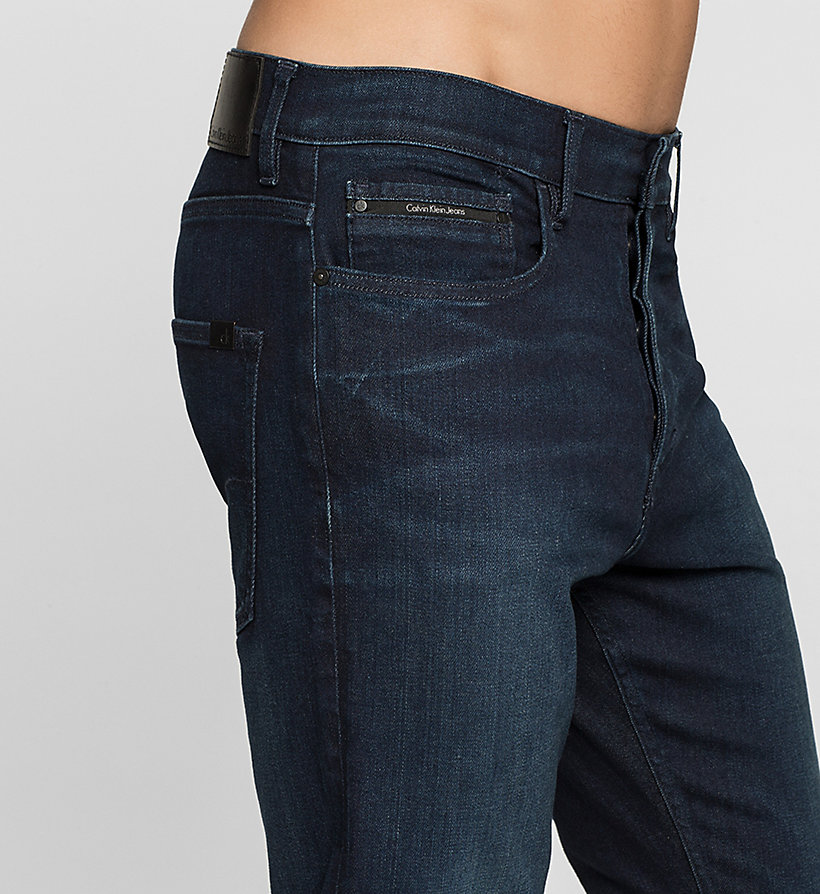 CKJEANS Regular Tapered Jeans - TRUE WORN BLUE - CK JEANS JEANS - detail image 2