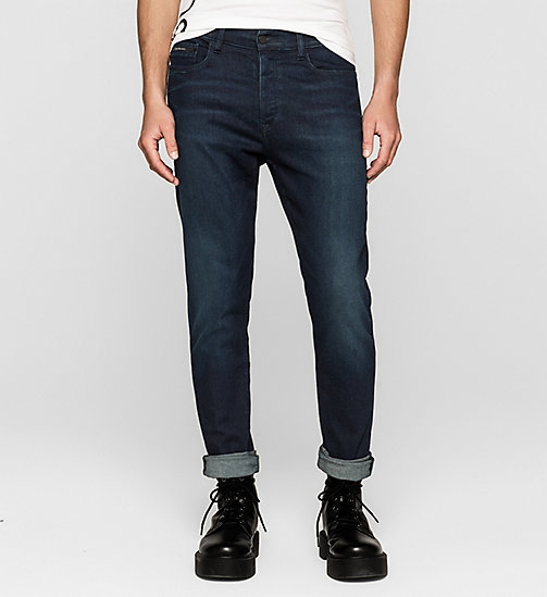 Regular Tapered Jeans - TRUE WORN BLUE - CK JEANS  - main image
