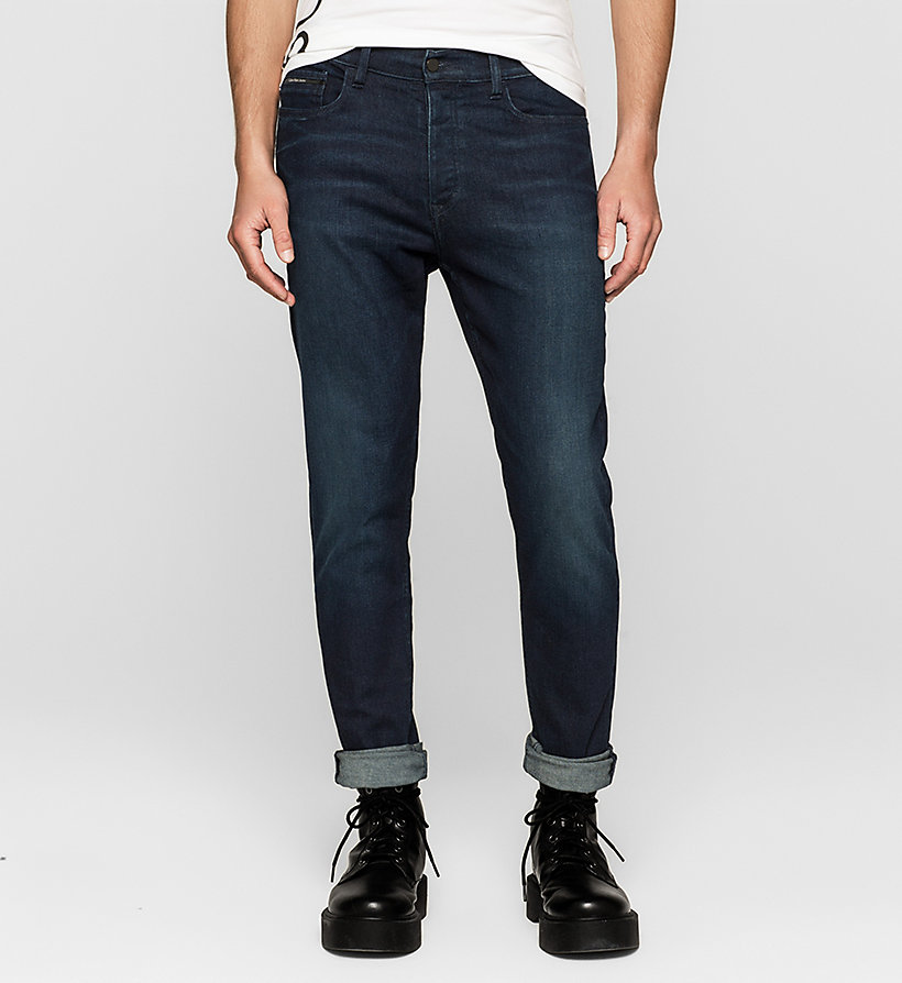 CKJEANS Regular Tapered Jeans - TRUE WORN BLUE - CK JEANS JEANS - main image