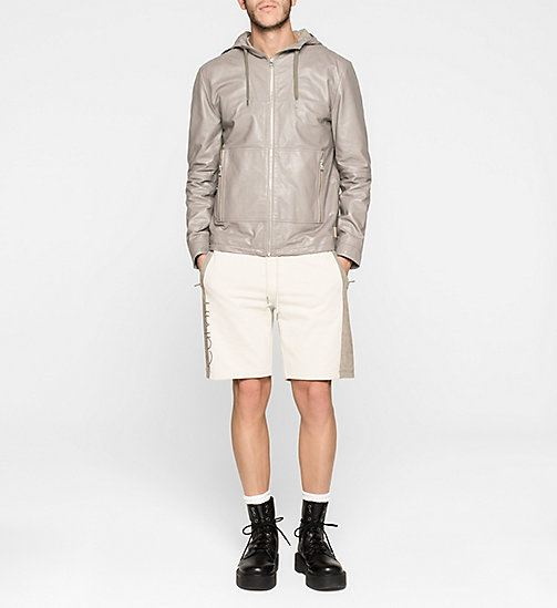 Leder-Windbreaker - MOURNING DOVE - CK JEANS  - main image 1