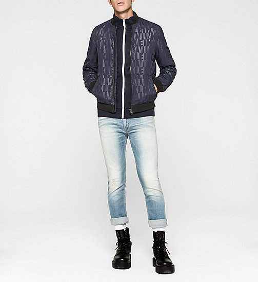 CKJEANS Logo-Trainingsjacke - NIGHT SKY - CK JEANS  - main image 1