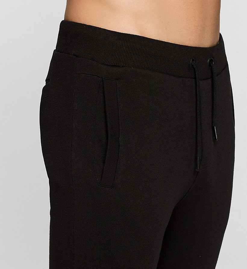 CKJEANS Embroidered Sweatpants - CK BLACK - CK JEANS TROUSERS - detail image 2
