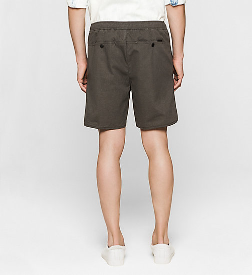 CKJEANS Regular Sporty Shorts - CK BLACK - CK JEANS SUMMER SHOP FOR HIM - detail image 1