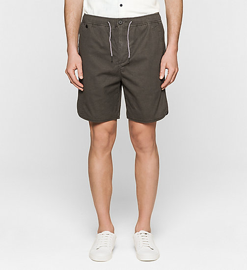 Regular Sporty Shorts - CK BLACK - CK JEANS  - main image