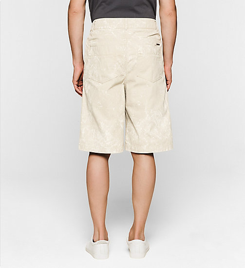 CKJEANS Bermuda Shorts - FEATHER GRAY - CK JEANS SUMMER SHOP FOR HIM - detail image 1