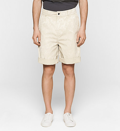 CKJEANS Bermuda Shorts - FEATHER GRAY - CK JEANS SUMMER SHOP FOR HIM - main image