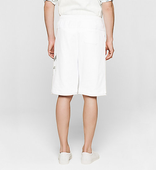Logo Sweat-Shorts - BRIGHT WHITE - CK JEANS SHORTS - main image 1