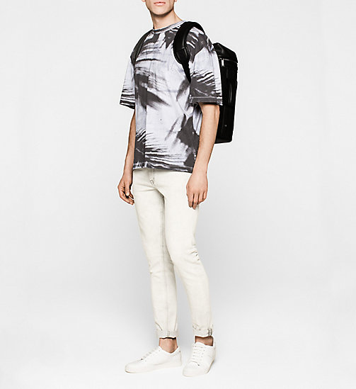 Oversized Printed T-shirt - BRIGHT WHITE - CK JEANS CLOTHES - detail image 1