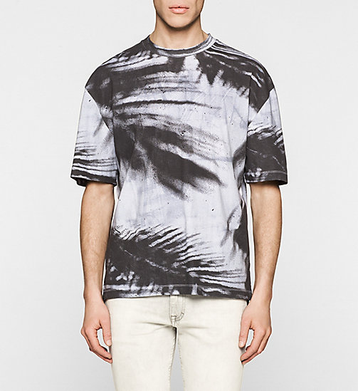 Oversized Printed T-shirt - BRIGHT WHITE - CK JEANS  - main image