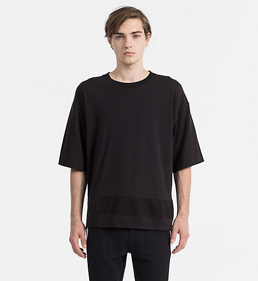 CALVIN KLEIN JEANS Oversized T-shirt - CK BLACK - CALVIN KLEIN JEANS ACTION-PACKED - main image