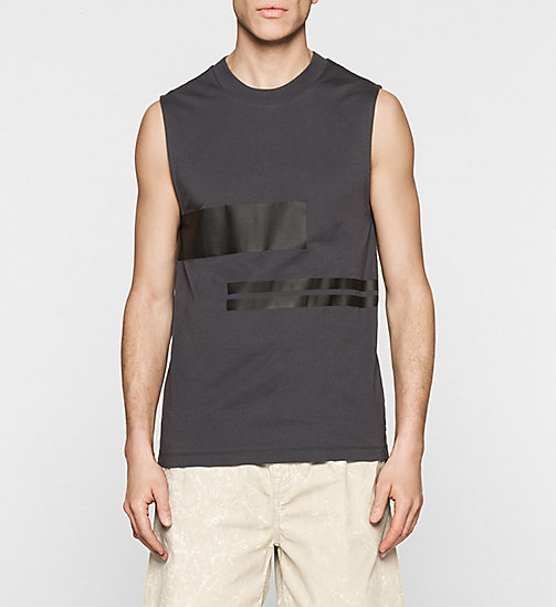 Printed Tank Top - PHANTOM - CK JEANS T-SHIRTS - main image