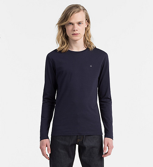 CALVIN KLEIN JEANS Longsleeve T-shirt - NIGHT SKY - CALVIN KLEIN JEANS CLOTHES - main image