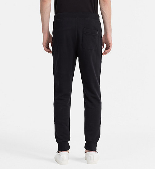 CALVIN KLEIN JEANS Contrast Panel Sweatpants - CK BLACK - CALVIN KLEIN JEANS ACTION-PACKED - detail image 1