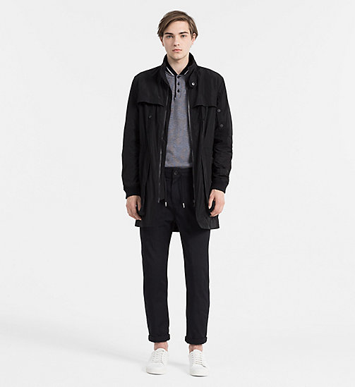Long Parka Jacket - CK BLACK - CK JEANS OUTERWEAR - detail image 1