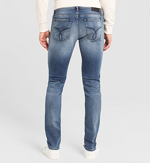 CALVIN KLEIN JEANS Skinny Jeans - BANG ON BLUE - CK JEANS CLOTHES - detail image 1