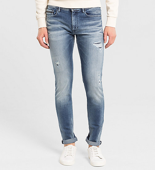 CALVIN KLEIN JEANS Skinny Jeans - BANG ON BLUE - CK JEANS CLOTHES - main image