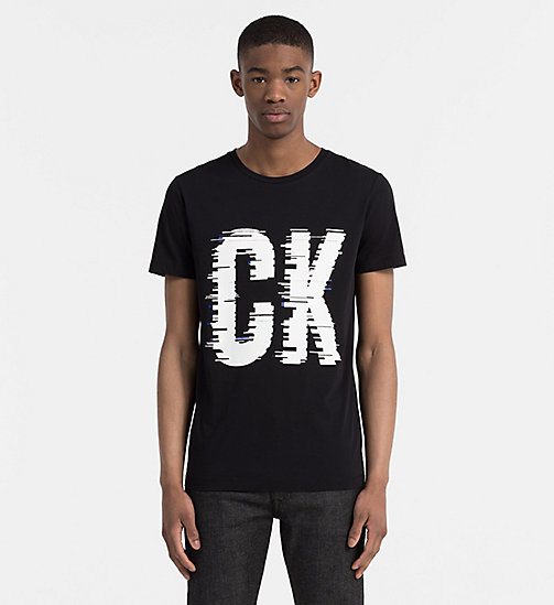 Regular Logo T-shirt - CK BLACK - CALVIN KLEIN JEANS T-SHIRTS - main image