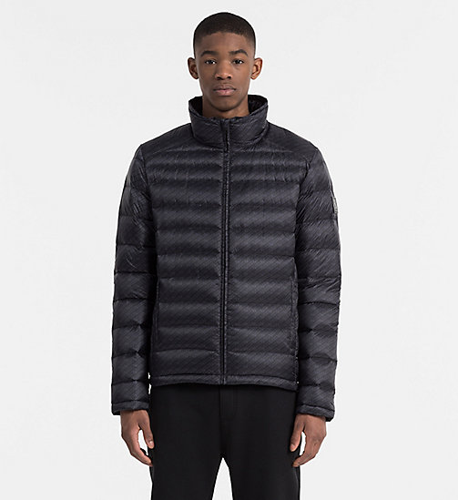 CALVIN KLEIN JEANS Packable Quilted Down Jacket - CK BLACK/ ASPHALT - CALVIN KLEIN JEANS JACKETS - main image