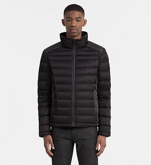 CALVIN KLEIN JEANS Packable Quilted Down Jacket - CK BLACK - CALVIN KLEIN JEANS CLOTHES - main image