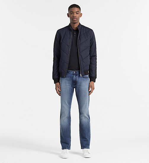 CALVIN KLEIN JEANS Padded Racer Jacket - NIGHT SKY - CALVIN KLEIN JEANS JACKETS - detail image 1