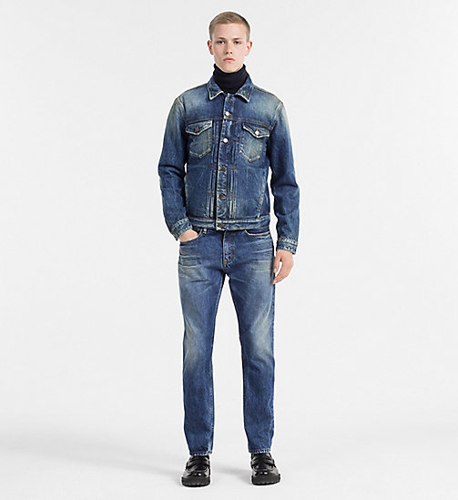 CALVIN KLEIN JEANS Denim Trucker Jacket - PEPPERY - CALVIN KLEIN JEANS NEW ARRIVALS - detail image 1