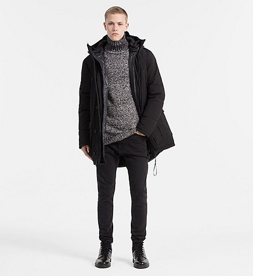 CALVIN KLEIN JEANS 2-in-1 Down Parka Coat - CK BLACK - CALVIN KLEIN JEANS COLD COMFORTS - detail image 1