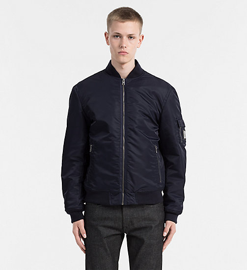 CALVIN KLEIN JEANS Padded Bomber Jacket - NIGHT SKY - CALVIN KLEIN JEANS JACKETS - main image