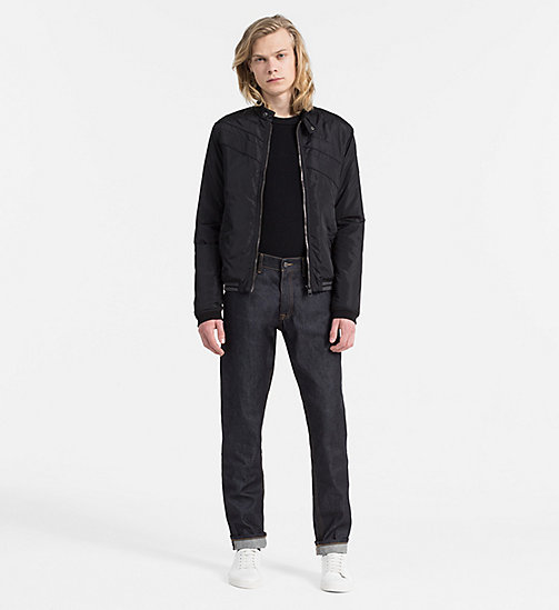 Padded Racer Jacket - CK BLACK - CALVIN KLEIN JEANS CLOTHES - detail image 1