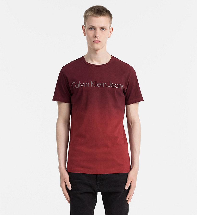 ombre logo t shirt calvin klein j30j305667. Black Bedroom Furniture Sets. Home Design Ideas