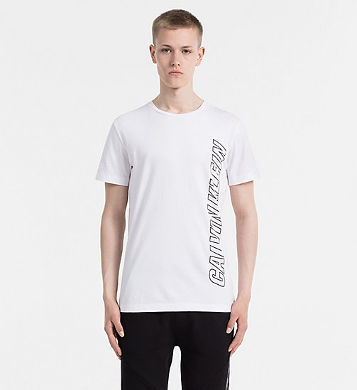 CALVIN KLEIN JEANS Regular Logo T-shirt - BRIGHT WHITE - CALVIN KLEIN JEANS 24/7 STAPLES - main image