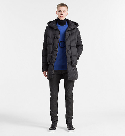 2-in-1 Padded Jacket - CK BLACK - CALVIN KLEIN JEANS CLOTHES - detail image 1