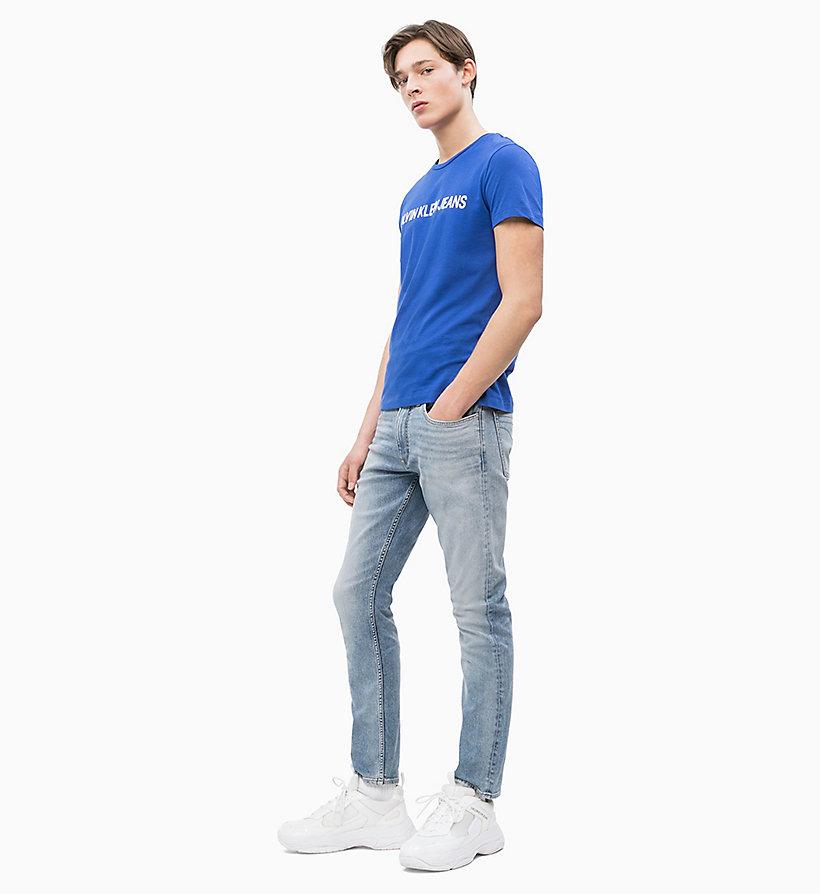 Calvin Klein - Slim Organic Cotton Logo T-shirt - 5