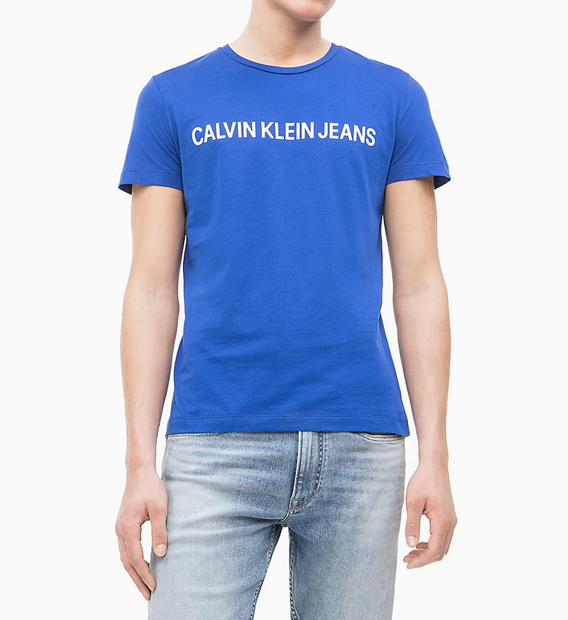Calvin Klein - Slim Organic Cotton Logo T-shirt - 6