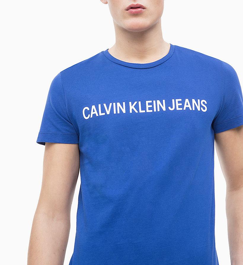 Calvin Klein - Slim Organic Cotton Logo T-shirt - 8