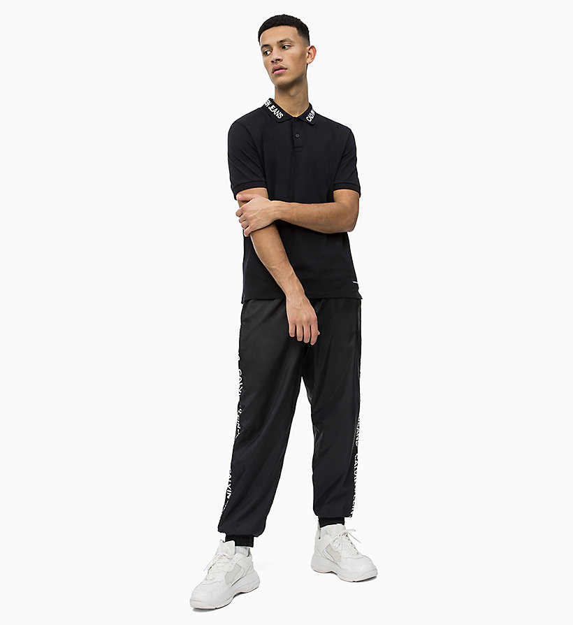 Calvin Klein - Polo de piqué de algodón con logo en el cuello - 4