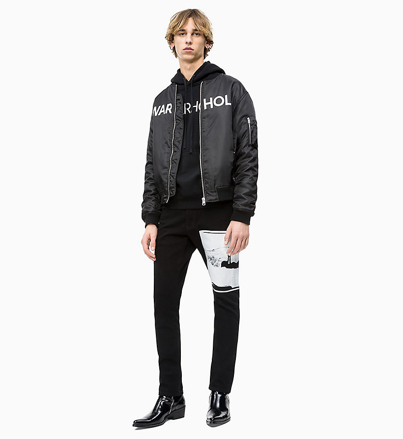Calvin Klein - Andy Warhol Logo Hoodie - 4