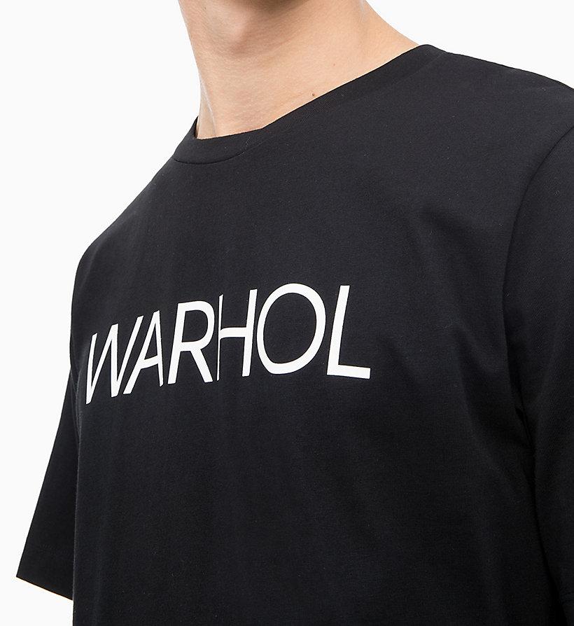 Calvin Klein - Andy Warhol Logo T-shirt - 3