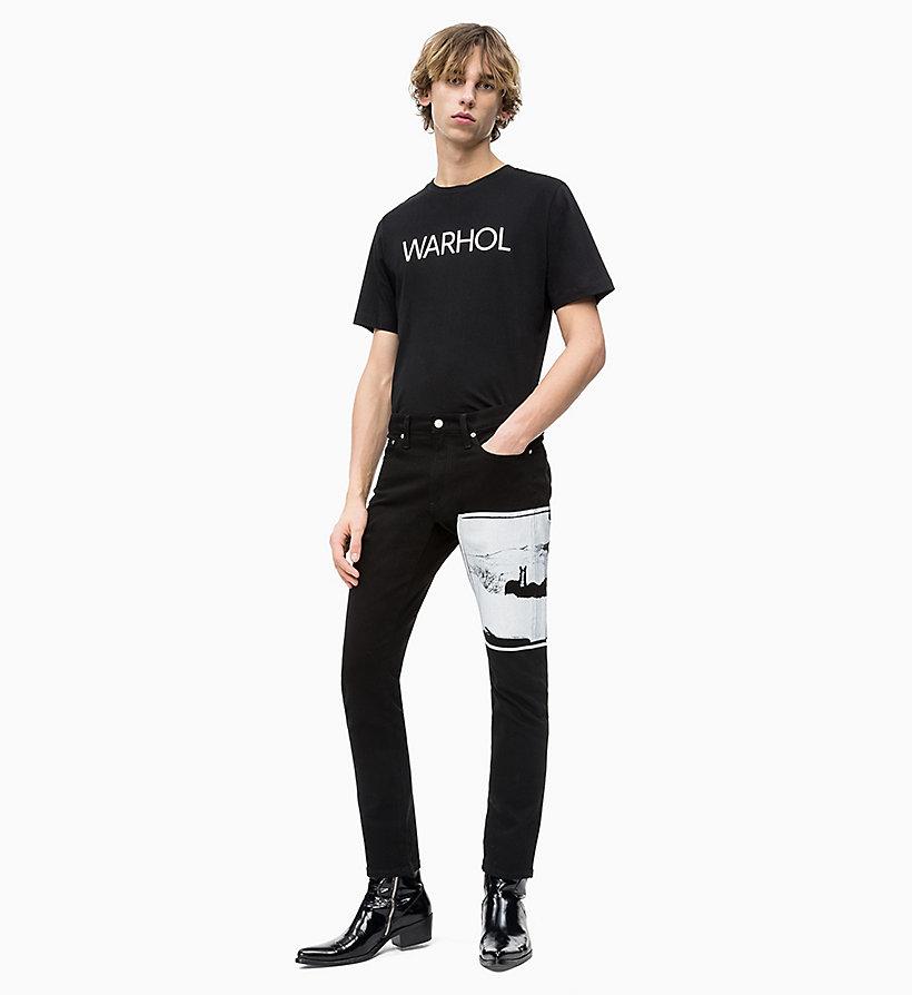 Calvin Klein - Camiseta con logo de Andy Warhol - 5
